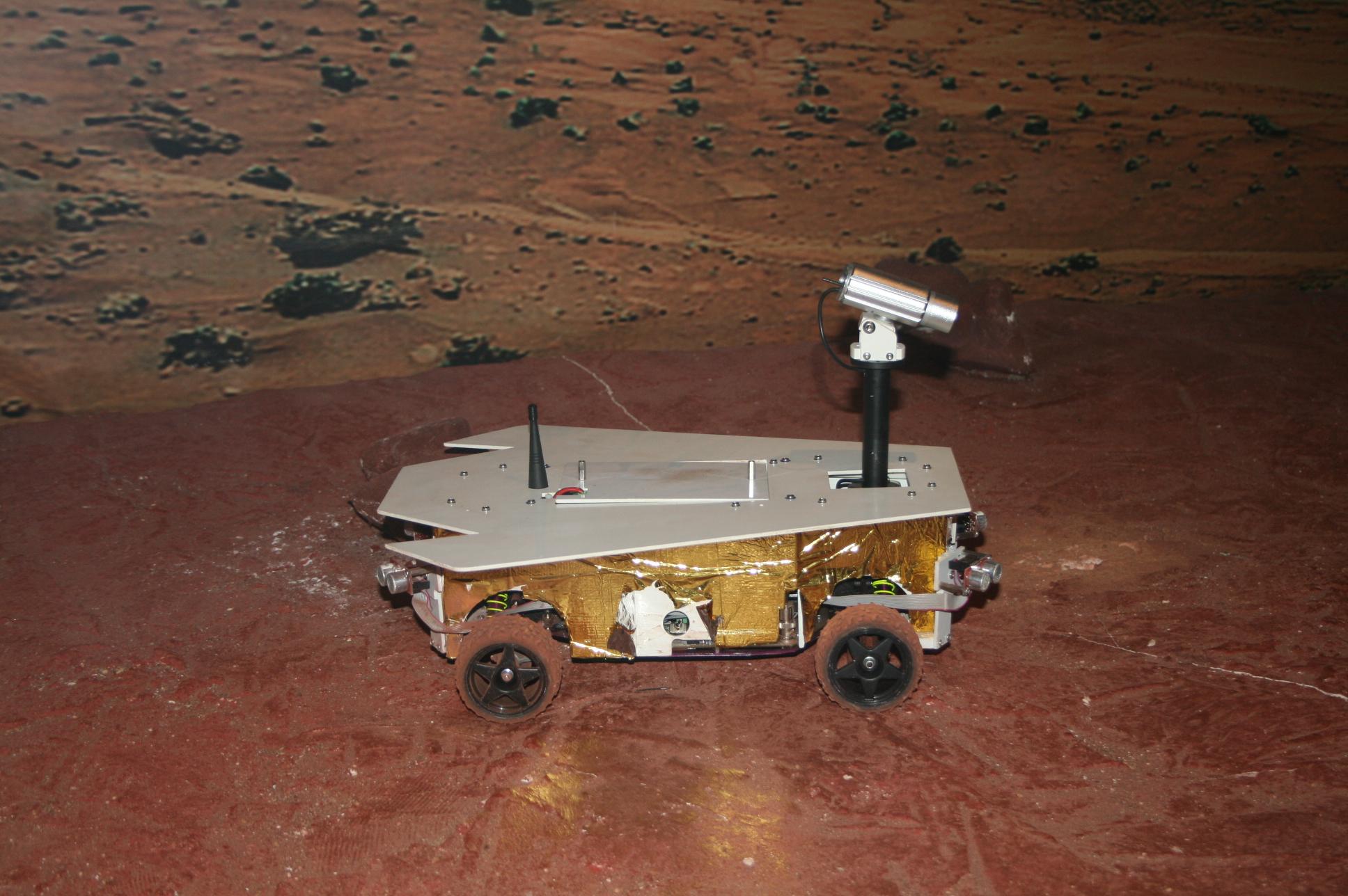 rover martien